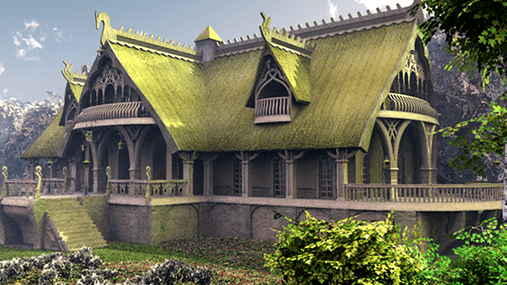 Elven Village 3D Series