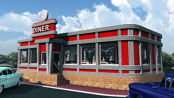 Fedoraville 3D Buildings Series