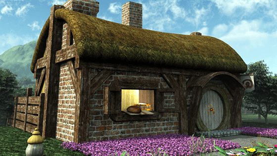 Halfling Village 3D Series