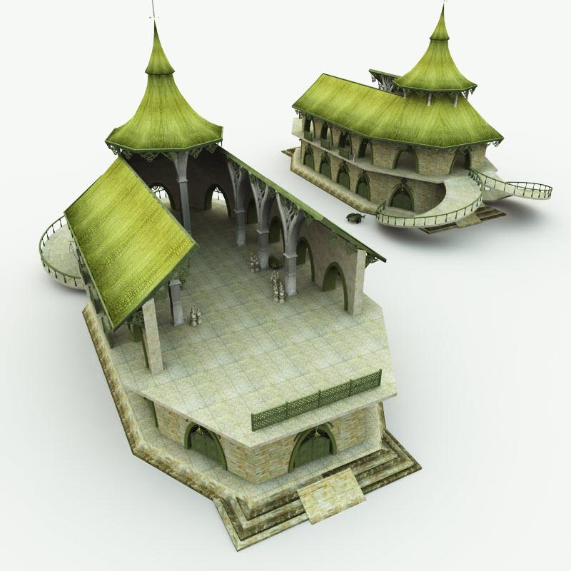 Elven buildings