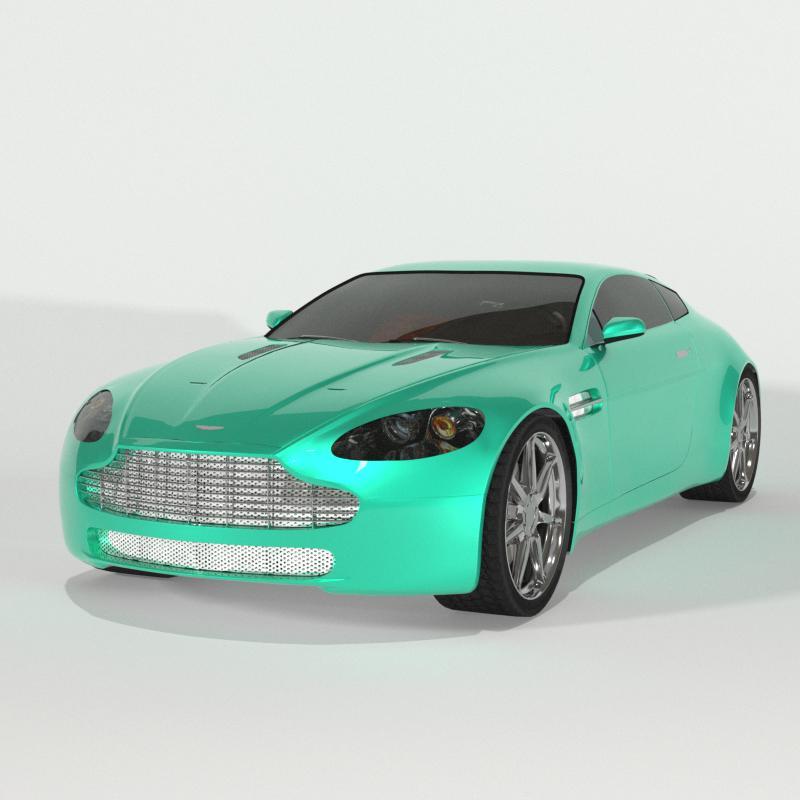 Luxury British Sport Car
