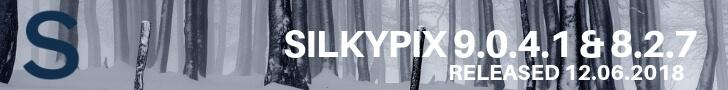 SILKYPIX 9.0.4.1 / SILKYPIX 8.1.27 Photo RAW Software Adds Fujifilm GFX 50R and Nikon Z 6 cameras