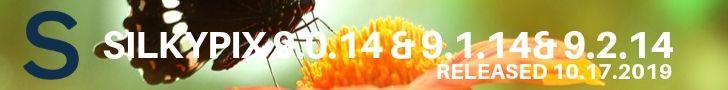 SILKYPIX 9.0.14 / SILKYPIX 9.1.14 / SILKYPIX 9.2.14 Update Supports Panasonic, Sony Cameras