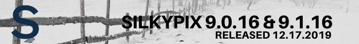 SILKYPIX 9.0.16 / SILKYPIX 9.1.16 Adds New Canon , FujiFilm, Nikon, Olympus and Sigma Cameras