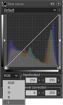 Luminance Tone Curve in Photography
