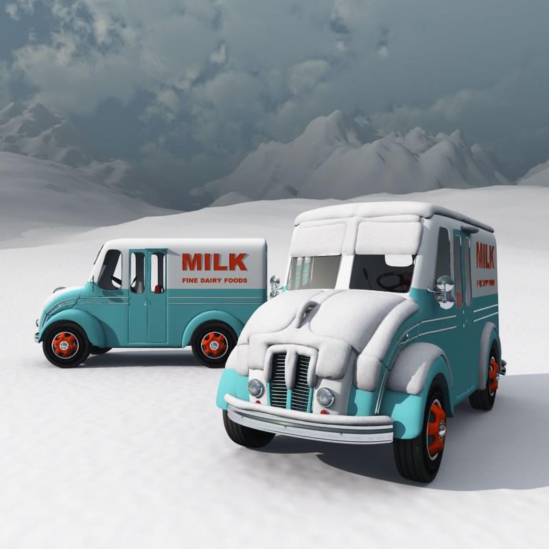 DivCo Milk Truck