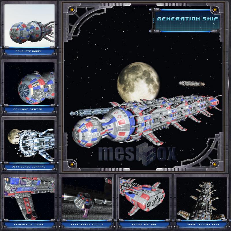 generation ship base ship
