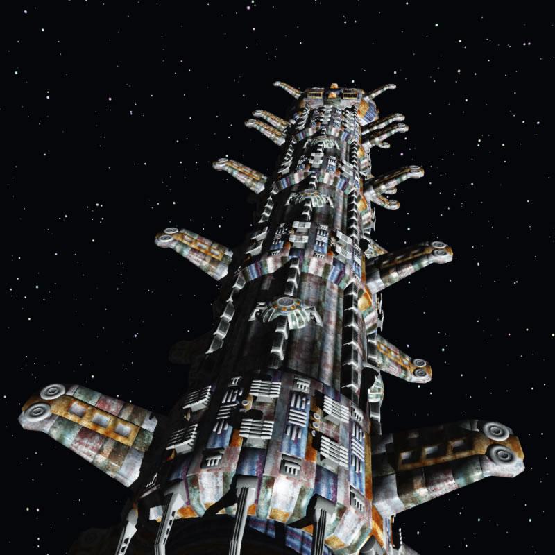 Generation Ship - Base Ship