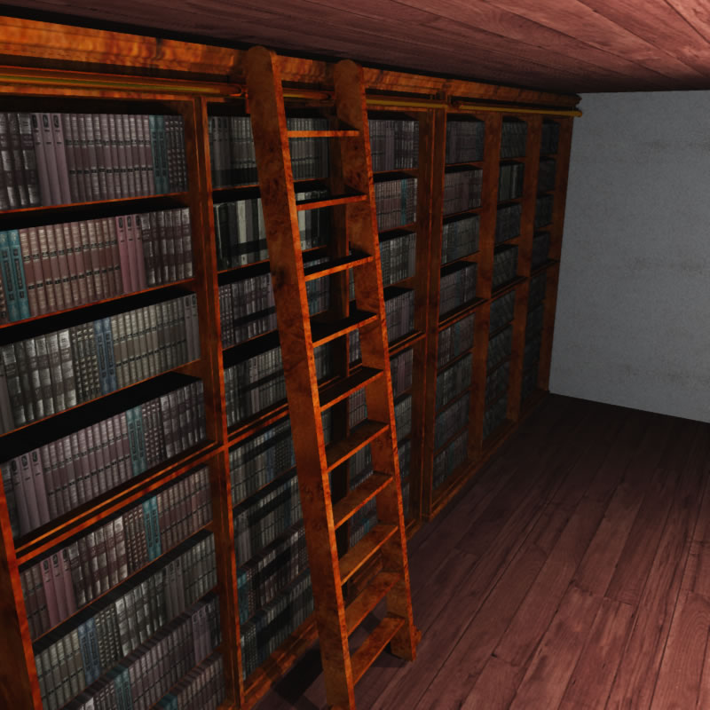 The wingate library basement 3d model for The wingate