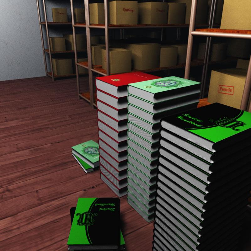 Miskatonic University Bookstore Basement 3D Model