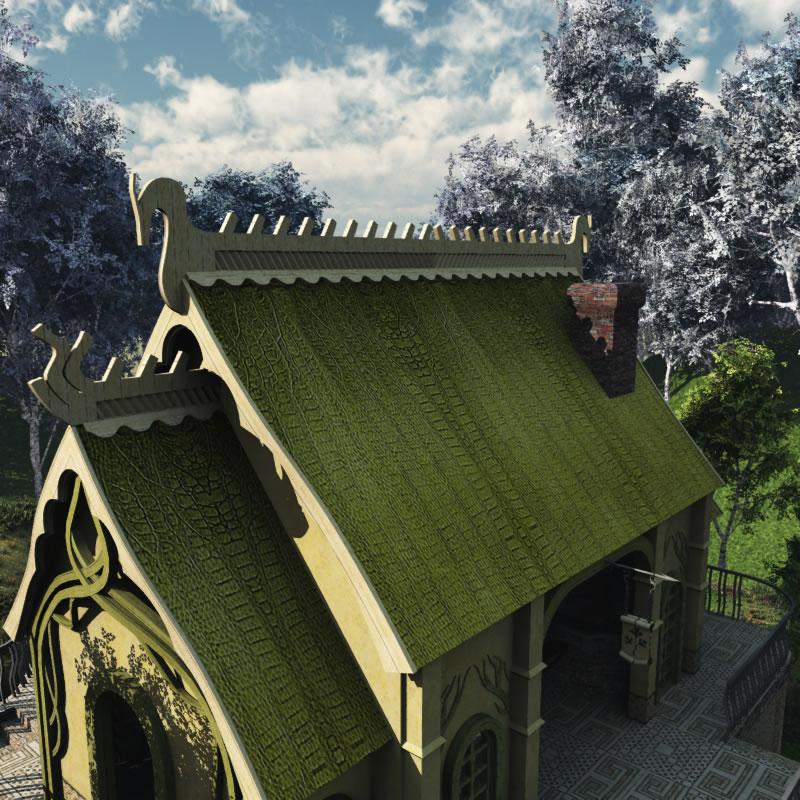 Elven Village Blacksmith