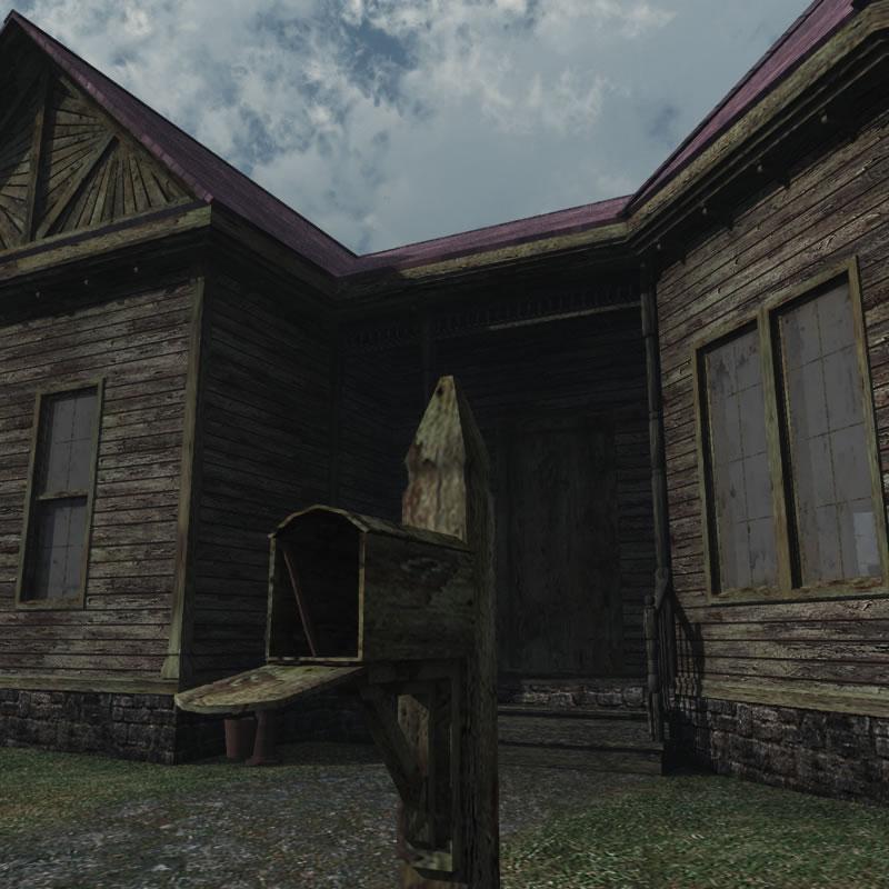 Haunted Village Cottage 3D Model From Meshbox Design