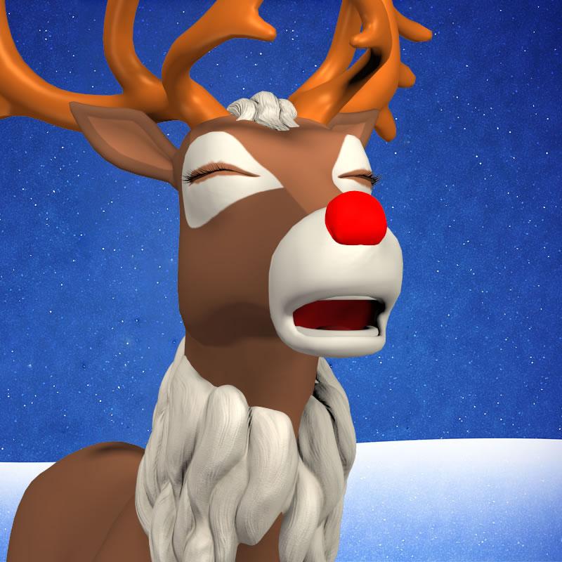 Toon Reindeer