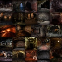 Undercity Backgrounds Volume 1