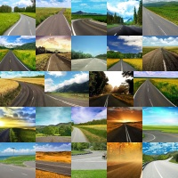 Roads and Highways Backgrounds Volume 1