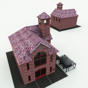 Innsmouth Fire Station