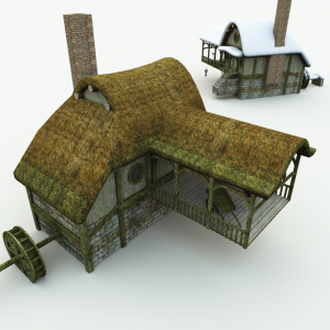 Halfling Village Watermill