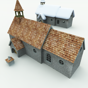 Halfling Village Church