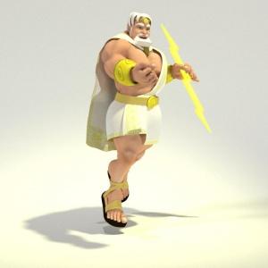Toon Poseidon 3D for Poser & DAZ Studio