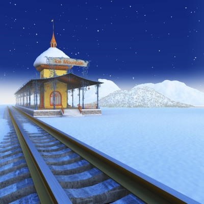 Ice Mountain Train Depot