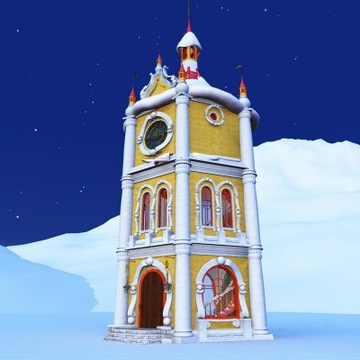 North Pole Clock Tower